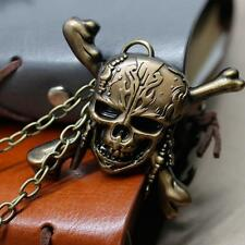Pirates of the Caribbean Skull Head Pendant Cosplay Necklace