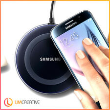 Wireless QI  Charger Charging PadPlate for Samsung Galaxy S6 S7 Edge - Colours