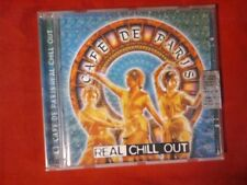 COMPILATION - CAFE' DE PARIS. REAL CHILL OUT (11 TRACKS). CD.