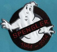 SPENGLER Memorial Ghostbusters No Ghost Patch  with male/HOOK backing