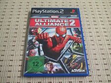 Marvel Ultimate Alliance 2 para PlayStation 2 ps2 PS 2 * embalaje original *