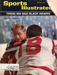 1964 (2/3) Sports Illustrated,Magazine,Hockey,Bobby Hull, Chicago Blackhawks~PrF