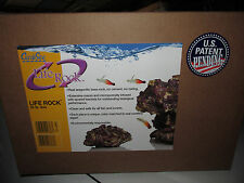 Brand New 20 LB. Box CARIBSEA LIFE ROCK For Aquariums Live Rock Substitute