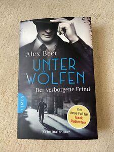 ALEX BEER - UNTER WÖLFEN / DER VERBORGENE FEIND - HISTORISCHER KRIMINALROMAN