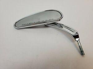 Genuine Harley Davidson Chrome Left Side Mirror Scratched