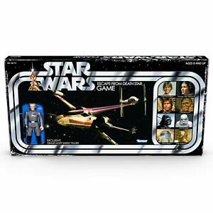 Star Wars Escape From Death Star Board Game with Exclusive Tarkin Figure Ages...