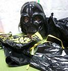 DARTH VADER beat-up Halloween mask & costume OG small w/ cape Ben Cooper 1977