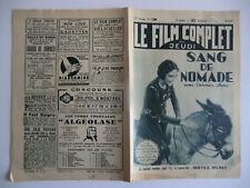 Le film complet du jeudi n°1288- 1933 Sang de nomade par Pierre Rédinval