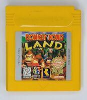 Donkey Kong Land Nintendo Original Game Boy Authentic & Tested