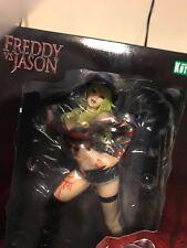 """In Stock Kotobukiya """"Freddy Krueger"""" vs Jason 2nd Edition Bishoujo Pvc Statue"""