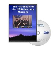 The Astronauts of the NASA Mercury Missions DVD Glenn, Shepard, Schirra Etc A479