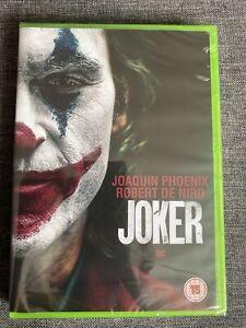 Joker (2019) Joaquin Phoenix NEW SEALED DVD