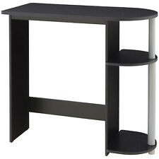 Mainstays Computer Desk with Built-in Shelves, Multiple Colors