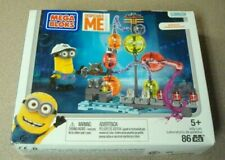 Mega Bloks Despicable Me Minion JELLY LAB Mini Kevin Figure - new
