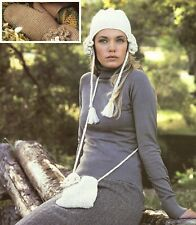 Crochet Pattern - Ladies Hat, Mittens and Bag/Purse  A0152