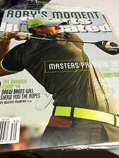 Rory Mcilroy Signed Sports Illustrated No Label Autographed Pga