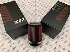 """ZZPerformance Cone Style Air Filter - 4 5/8"""" base, 4"""" Inlet - ZZP K&N"""