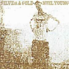 NEIL YOUNG 'SILVER AND GOLD' BRAND NEW RE-ISSUE LP