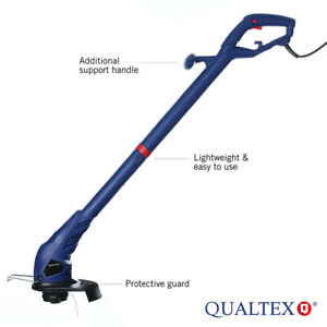 Qualtex 300w AC Electric Garden Grass Trimmer Adjustable Lawn Edge Cutter GDN102