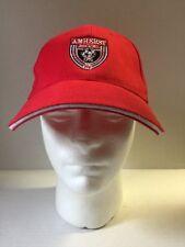 Amherst Soccer Association NY New York Red Adjustable Cap Hat
