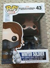 MARVEL Funko Pop Vinyl Captain America Winter Soldier Unmasked #43 Vaulted Grail