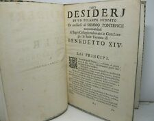 (CONTI Pietro Paolo), Vir Desideriorum. Desideri di uno zelante suddito...