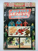 JUSTICE LEAGUE OF AMERICA #110 DC COMIC Bronze 1974 100 PAGES