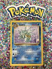 New Listing�� Seadra Fossil Set Pokemon Card Wizards WotC Game Freak Nintendo 1999 �