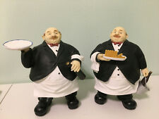 VTG Italian Fat Man Tray Sculpture Statue Chef Prop Restaurant Display BREAD