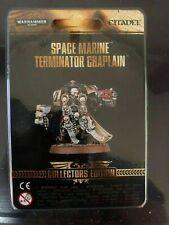 Space Marine Terminator Chaplain Collector's Edition 40k Exclusive BNIB