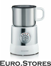 SEVERIN Induction Milk Frother Stainless Steel Electric Foamer Boxed
