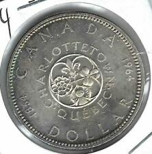 1964 Canada $1 Proof Like Silver Commermitive Quebec Dollar Coin!