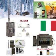 FOTOTRAPPOLA MIMETICA SPIA VIDEOCAMERA MMS- MAIL- INFRAROSSO INVISIBILE 12MP HD