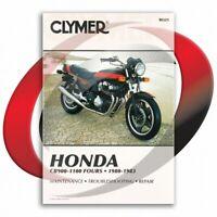 1980-1982 Honda CB900F Repair Manual Clymer M325 Service Shop Garage
