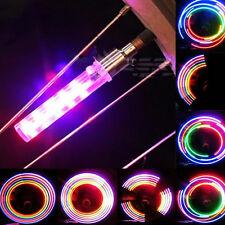 2x LED Ventil Reifen Licht Ventilkappen Speichenlicht für Fahrrad Motorrad Auto