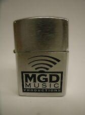 MGD Music Productions Advertising Cigarette Lighter