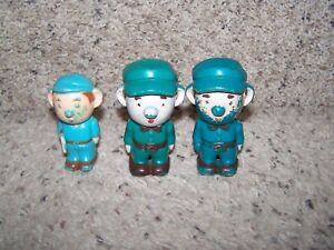 LOT of 3 1950's BUDDY L ADVERTISING FIGURES MADE IN HONG KONG 3 1/2""