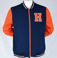 Tommy Hilfiger Mens Varsity Jacket Large Letterman Bomber...