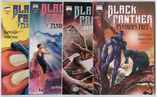 Black Panther: Panther's Prey #1 - 4  Complete Set  avg. NM+ 9.6  Marvel  1991