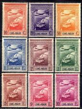 St. Thomas and Prince sc#C10-C18 (1939) Colonial Empire full set OG MLH*
