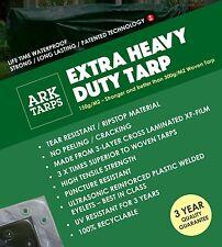 Extra Heavy Duty XF Tarp -2 x Better Than Poly Tarps - 100% Waterproof - 3m x 4m