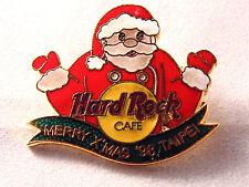 Hard Rock Cafe Merry X'Mas 1998 Taipei Lapel Pin