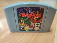 Banjo Kazooie N64  English Language US Version US Seller New Free Shipping