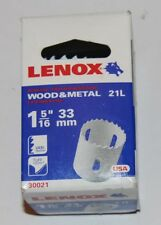Lenox holesaw 33mm wood & metal