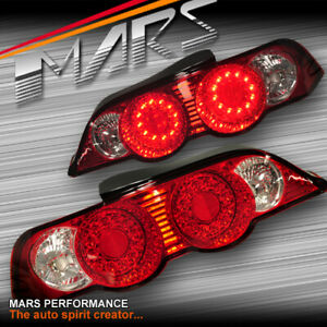 Clear Red JDM Altezza LED Tail Lights for HONDA INTEGRA DC5 2001-2004 & TYPE-R