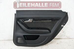 Audi A6 C6 4F Türverkleidung hinten rechts Alcantara Leder schwarz 4F0867306K