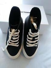 Tretorn childs Hi-Tops. Size 2. Black with white trim. Make Offer