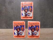 Lot de 3 pochettes de 6 images SAN KU KAI - vintage - No panini