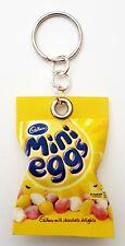 Handmade Novelty Packet Of Mini Eggs Keyring/Bag Charm