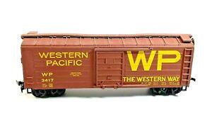 HO Vintage Western Pacific 3417 Boxcar
